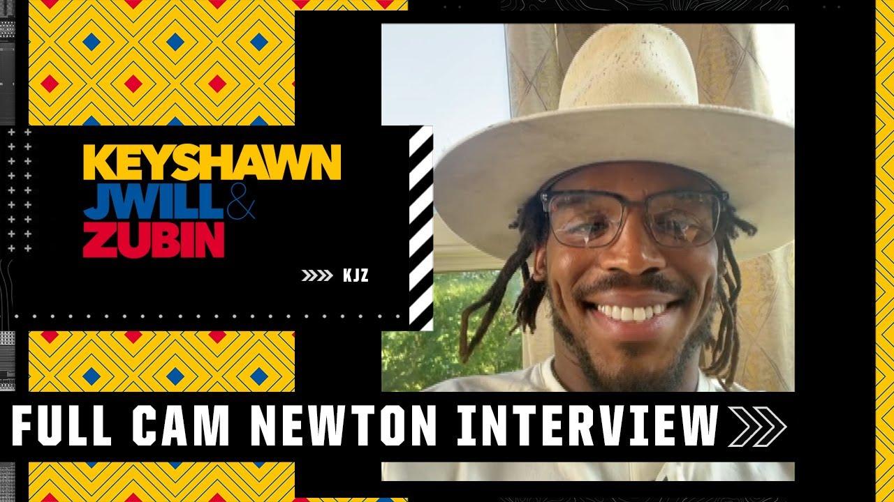 Download Cam Newton on Patriots drafting Mac Jones, Bill Belichick and the 2021 season [FULL INTERVIEW]   KJZ