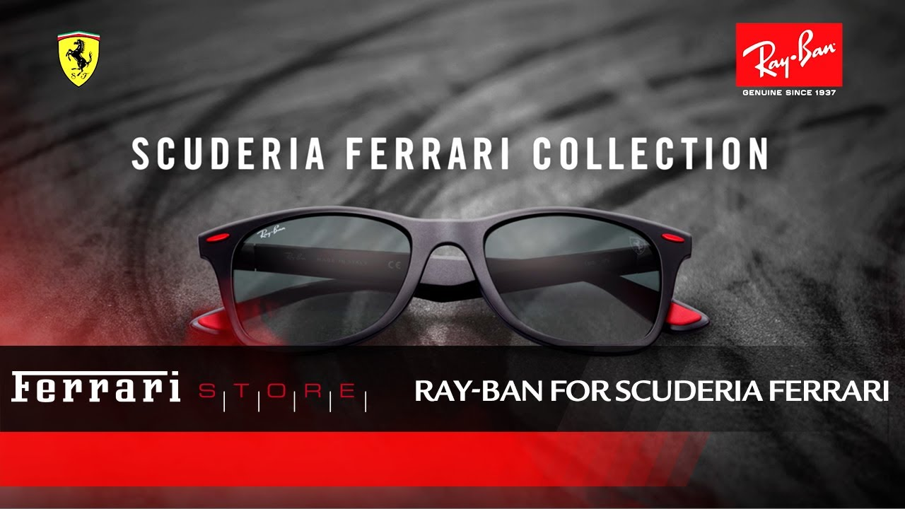afcebcd5ed898 Ray-Ban Scuderia Ferrari Collection - YouTube