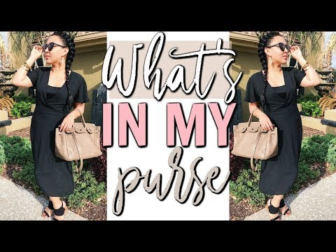 WHAT'S IN MY BAG 2018 | Page Danielle