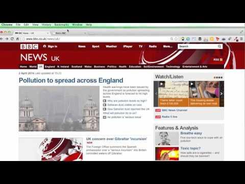 016 CSS Project BBC News Website 1