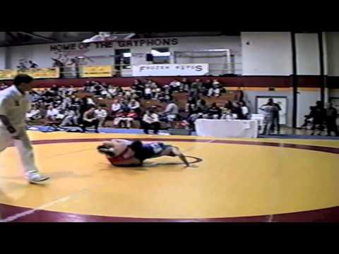 2002 Senior National Championships: 55 kg Rene Harrison vs. Tony Churchill
