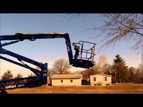 upright sl 20 24v electric scissor lift aerial man w 32 3 01