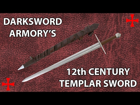 Darksword Armory's 12th Century Templar Sword Review