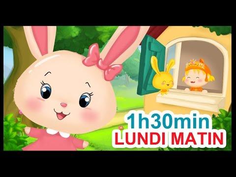 Lundi matin et 1h30 min de comptines pour enfants - Titounis