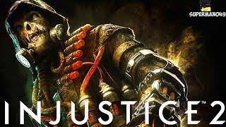 "Legendary Scarecrow Ability Is Amazing! - Injustice 2 ""Scarecrow"" L..."