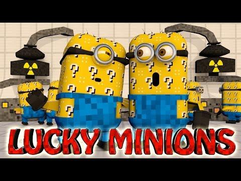 Minecraft | LUCKY BLOCK MINIONS CHALLENGE - Minions Mod (Despicable Me, Gru, Purple Minions)