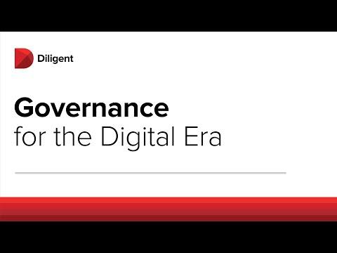 Modern Governance in the Digital Era