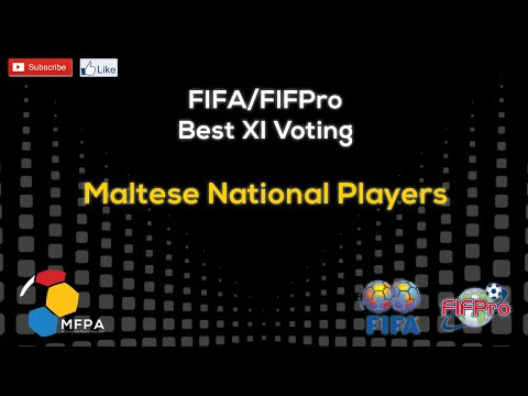 Maltese National Players - FIFA/FIFPro Best XI Voting