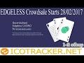 ИНВЕСТИЦИИ EDGELESS (EDG) ICO Онлайн казино, сравнение с токенами vDice! ИКО на ICOTRACKER!