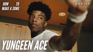 Inside Yungeen Ace's Studio Session | How To Make A Song