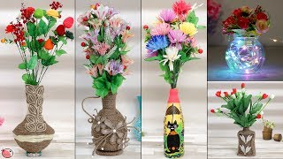 6 Quick Easy DIY Flower Pot Ideas at Home !!! Handmade Things