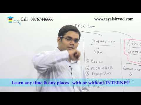 Business Law ,Ethics and Communication Lecture for May 2017 Examination for CA IPCC