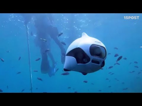 Con este drone podrás explorar el fondo del mar - 15 POST