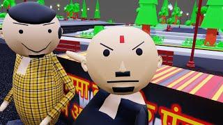 MODERN बाबा //PV ki TV// CARTOON  MJO ANIMATION VIDEO