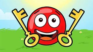 Новый КРАСНЫЙ ШАР, Красныш спасает Соню, мультик игра Детский летсплей #108