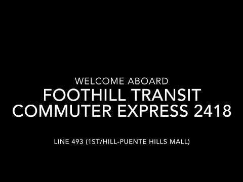 Foothill Transit 2016 New Flyer Industries XN40 #2418 | Coin