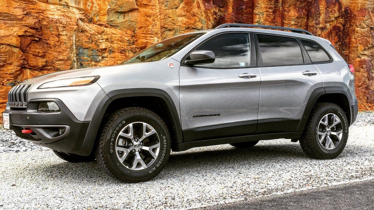 2015 jeep cherokee trail hawk | an average guy's review - youtube