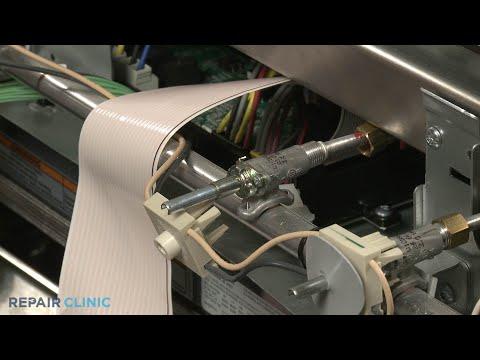 KitchenAid Convection Gas Range Right Front Burner Valve Replacement - Model #KSGB900ESS1