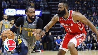 James Harden scores 57 points in the Rockets' overtime loss to the Grizzlies l NBA Highlights