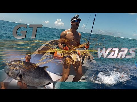 Insane Monster GT Fishing On Topwater -  GT WARS