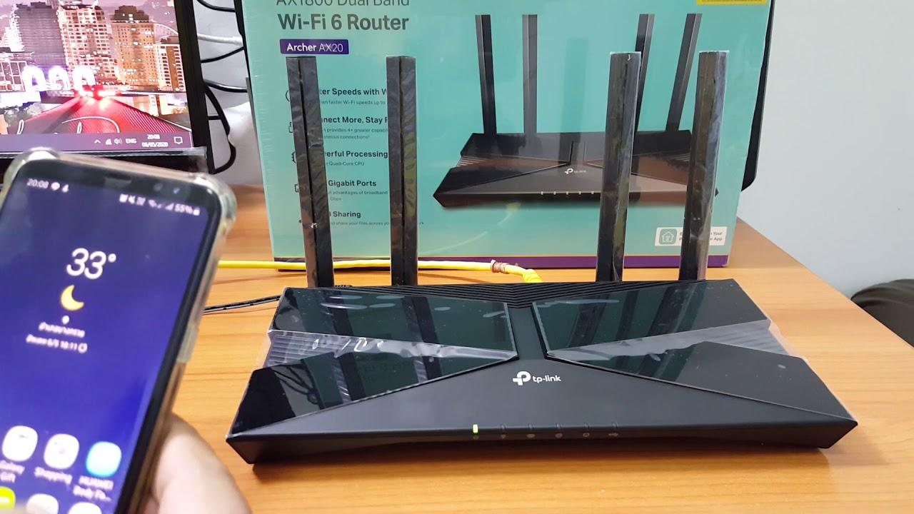 แกะกล่อง รีวิว TP-Link Archer AX20 Wi-Fi 6 Router
