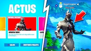 SKINS and PIOCHES HALLOWEEN DEVOILES on FORTNITE Battle Royale! 😱