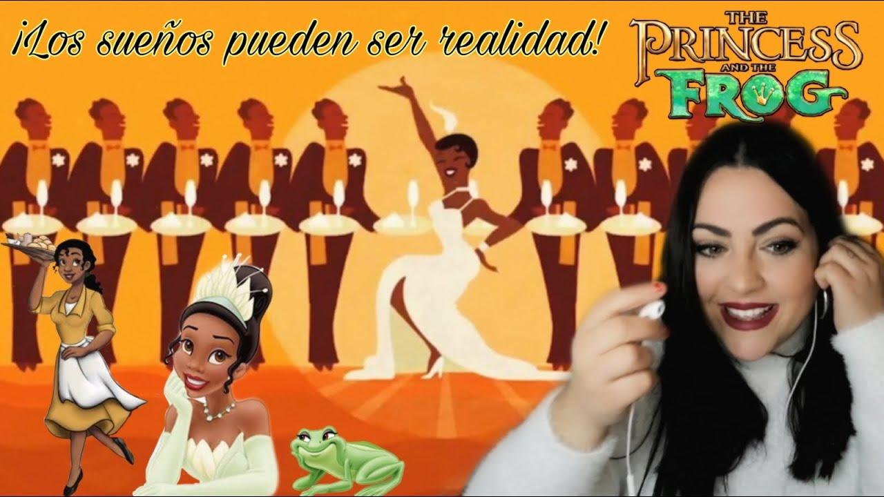 Española Reaccionando A Llegaré Tiana Y El Sapo Doblaje Latino Vs Castellano Youtube