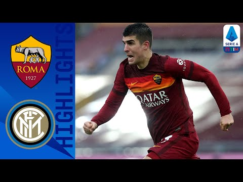AS Roma Inter Goals And Highlights