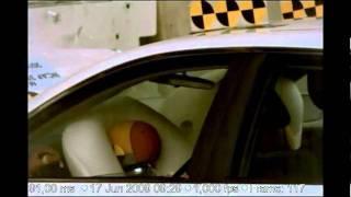 Краш тест Toyota Camry (crash test Toyota Camry)