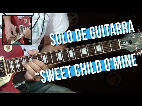 Guns N' Roses – Sweet Child O' Mine – Solo (como tocar – aula de guitarra)