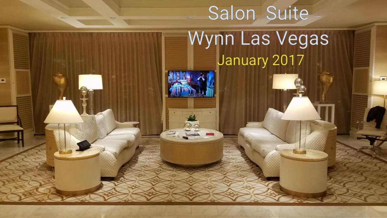 Wynn las vegas salon suite 2203 youtube for Wynn hotel decor