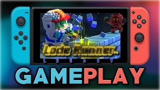 Lode Runner Legacy | First Look | Nintendo Switch