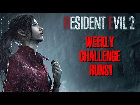 PLATINUM WEEKLY CHALLENGES - Resident Evil 2