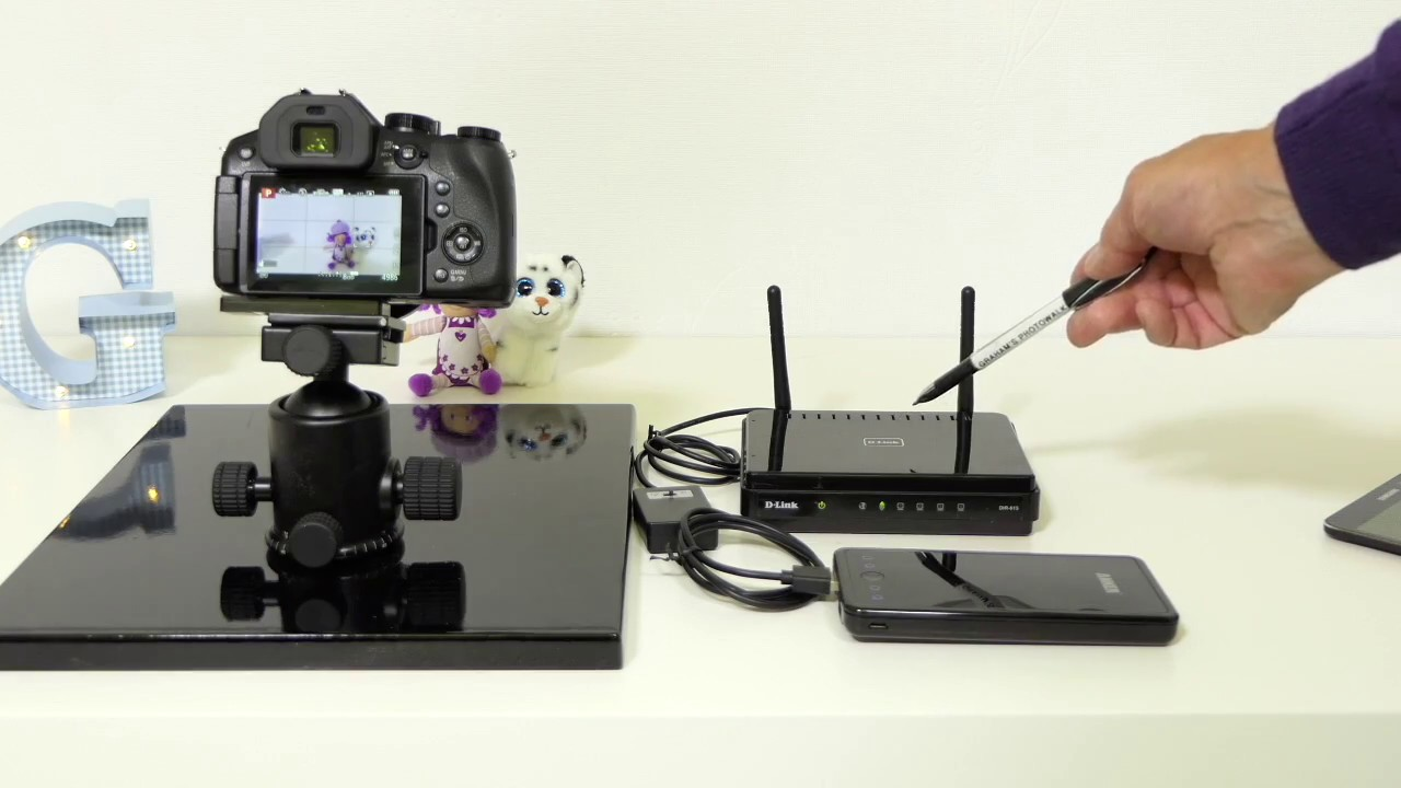 Extending the Wi-Fi range with Panasonic Lumix camera and Image App
