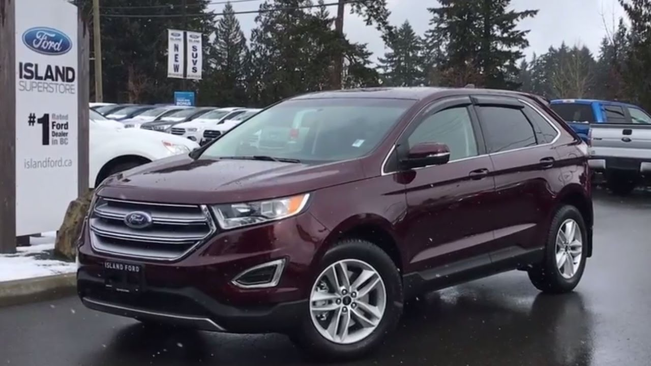 Ford Edge Sel Awd Backup Camera Review Island Ford