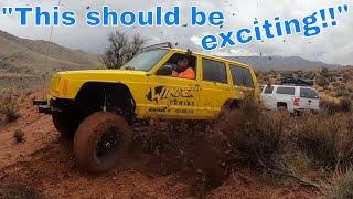 Virgin Utah Mud vs Chevy Silverado 4x4