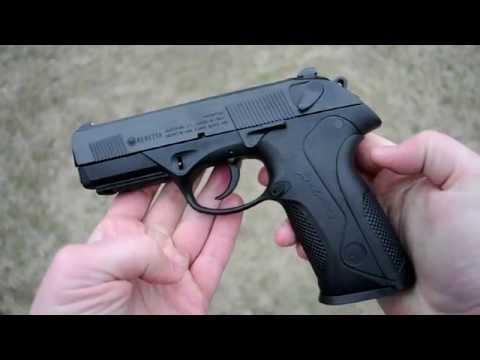 Shooting: Beretta PX4 Storm 9mm - surprisingly good!