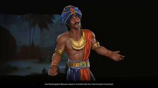 Video Sid Meier's Civilization VI: Rise and Fall - Chandragupta of India  First Meeting download MP3, 3GP, MP4, WEBM, AVI, FLV Maret 2018