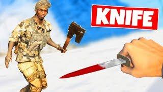 we made a KNIFE ONLY custom server - BFV Open Beta