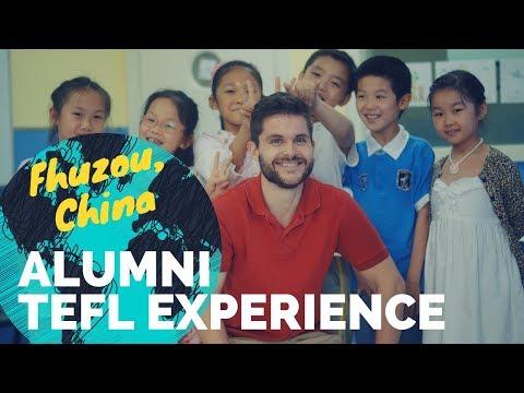 Jonathan Ogden English teaching in Fuzhou, China - International TEFL Academy