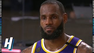 LeBron James On Battles With Carmelo Anthony - Game 3 | Lakers vs Blazers | 2020 NBA Playoffs