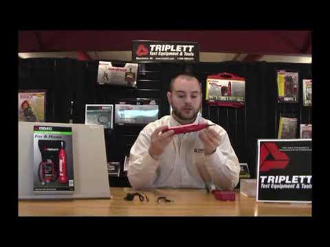 Triplett Fox & Hound Premium Tone And Probe Wire Tracing Kit Generates Multiple Tones With Adjustabl