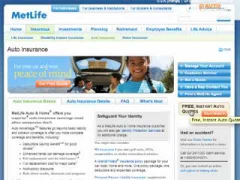MetLife Auto Insurance – Reviews, Customer Ratings, Discounts, and Quotes