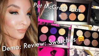 Pat McGrath Labs : Mothership 6 Pan Palettes : Demo : Review : Swatches