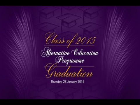 Alternative Secondary Education Graduation