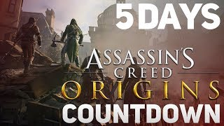 Assassin's Creed Origins Countdown - 5 Days to Go (AC Unity/PC)