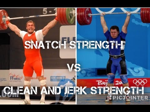 Snatch Strength vs Clean and Jerk Strength : The Weightlifting Accountant