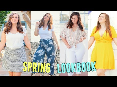 d11d58467a630 Curvy Spring Lookbook 2018! Spring Outfit Ideas For Curvy Girls! - YouTube