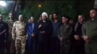 شاهد..الحشد الشعبي يُهدد بإعدام مداني الإرهاب ببغداد