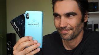 Xiaomi Redmi Note 5 vs Motorola Moto G6 Plus | review comparativa en español
